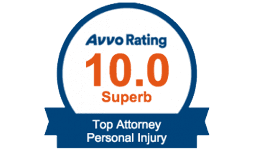 Avvo Rating 10.0 Superb Top Rated Personal Injury